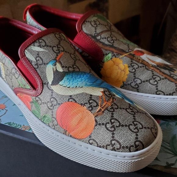 Gucci Shoes   Gucci Tian Slip Ons